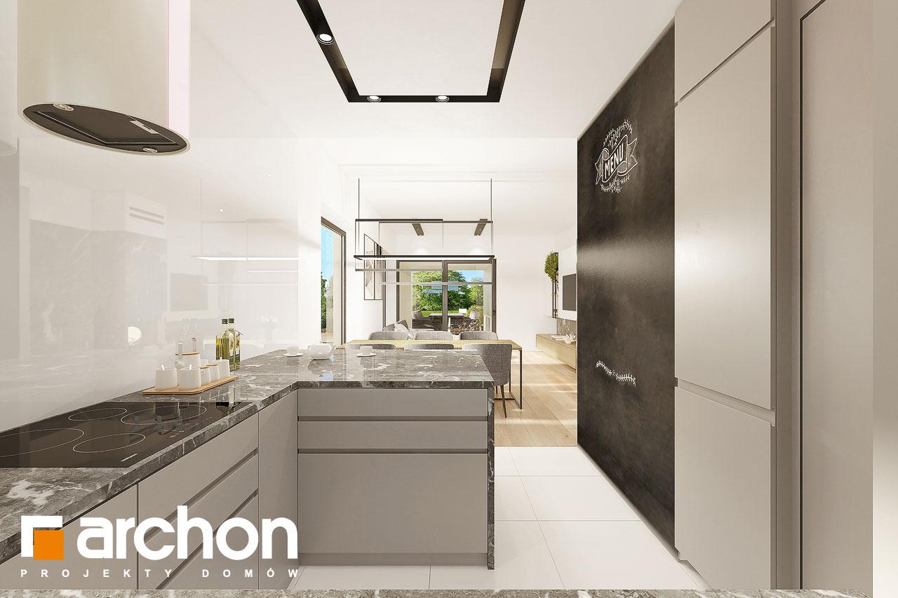 Проект будинку ARCHON+ Будинок в ренклодах 12 візуалізація кухні 1 від 2
