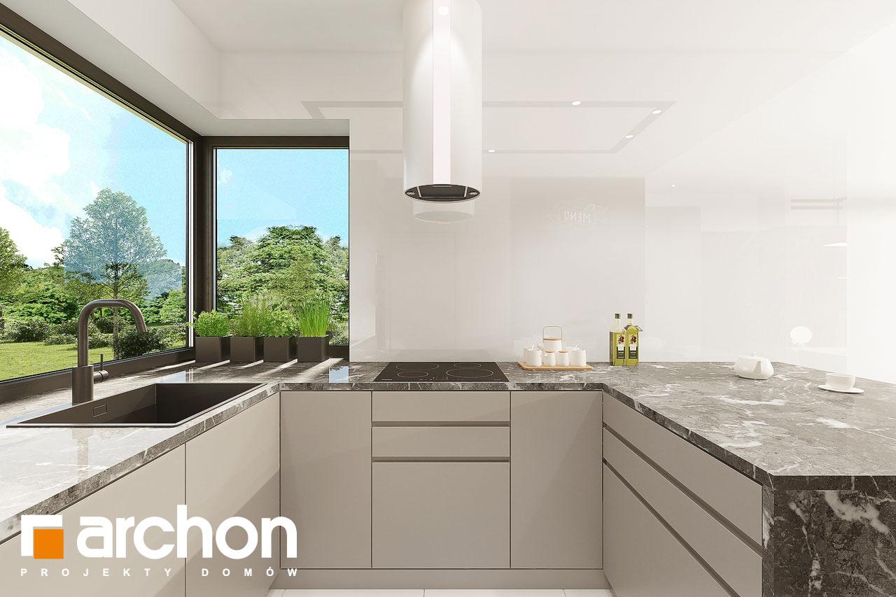 Проект будинку ARCHON+ Будинок в ренклодах 12 візуалізація кухні 1 від 3