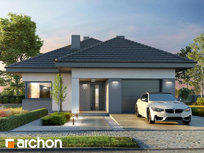 Проект будинку ARCHON+ Будинок в ренклодах 12 Вид 1