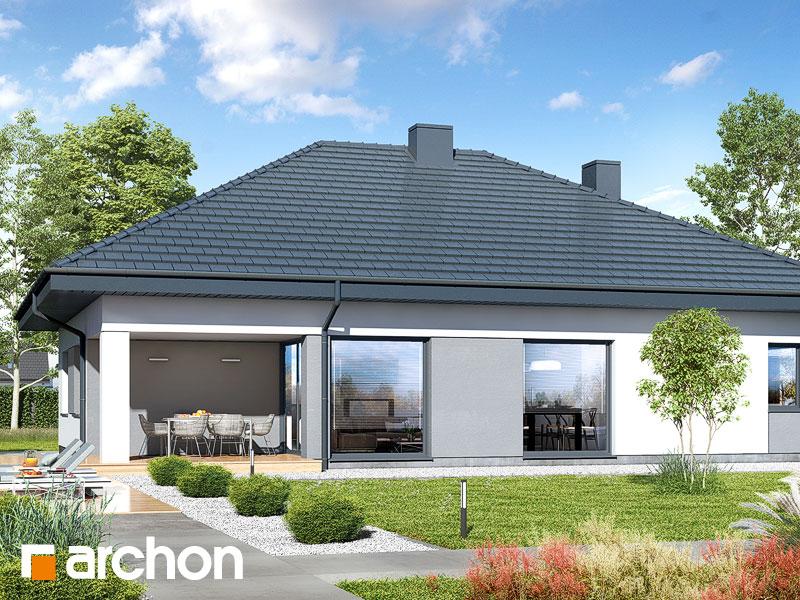 Проект будинку ARCHON+ Будинок в ренклодах 12 Вид 2