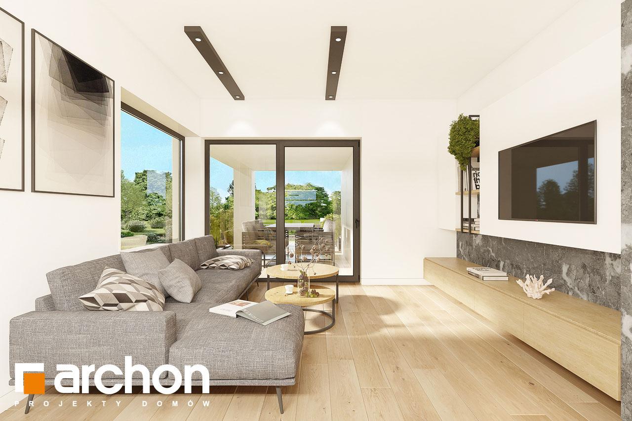 Проект будинку ARCHON+ Будинок в ренклодах 12 денна зона (візуалізація 1 від 1)