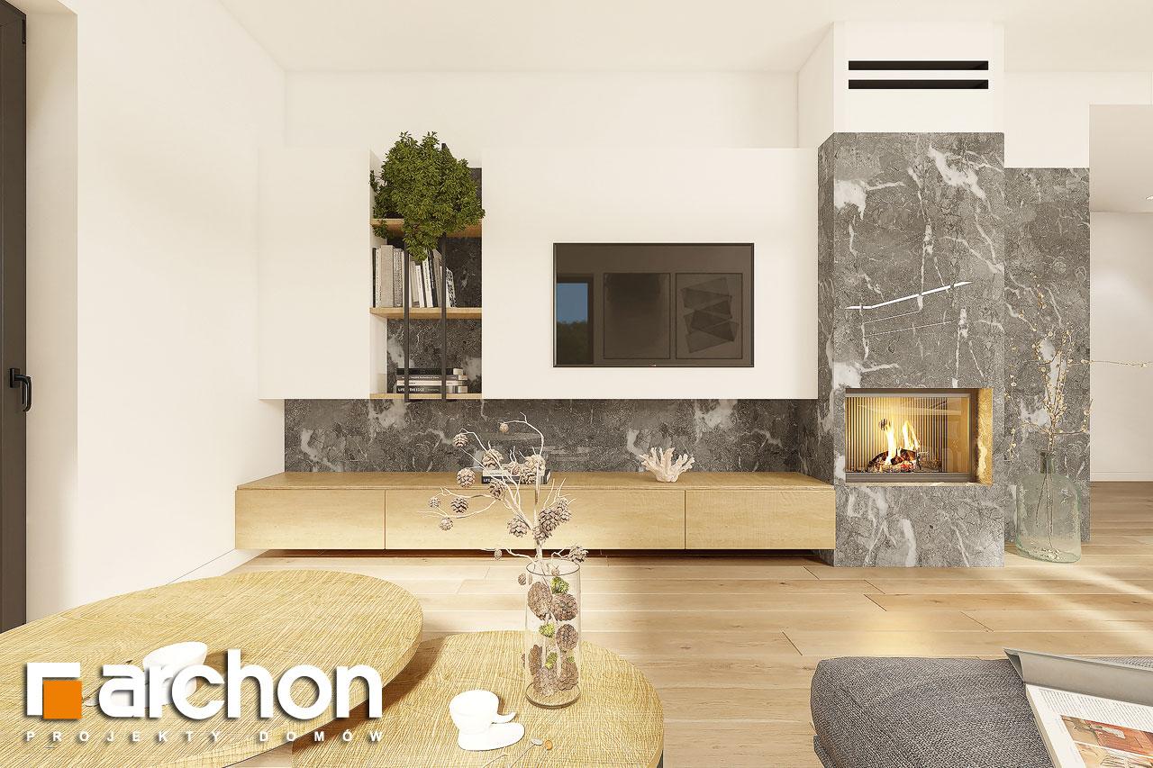 Проект будинку ARCHON+ Будинок в ренклодах 12 денна зона (візуалізація 1 від 2)