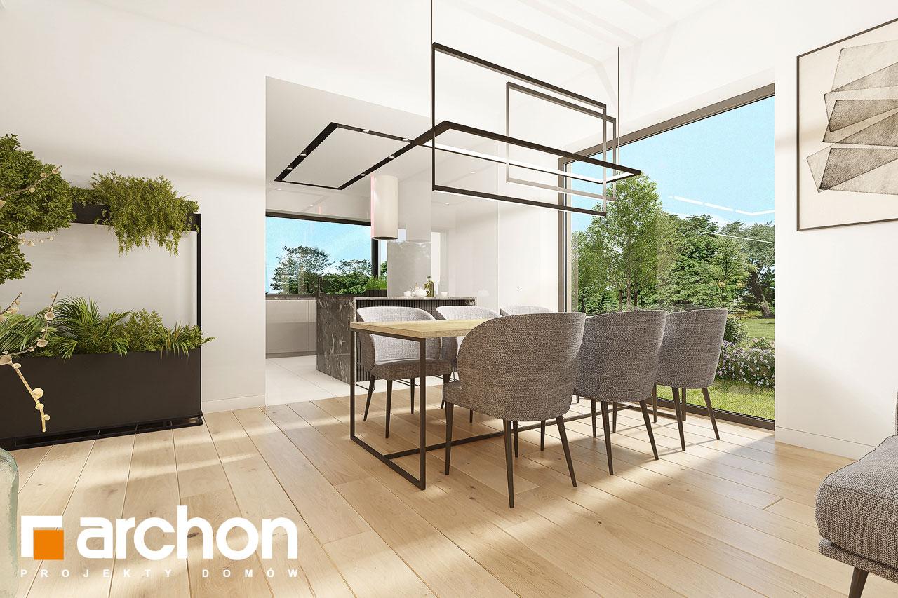 Проект будинку ARCHON+ Будинок в ренклодах 12 денна зона (візуалізація 1 від 4)