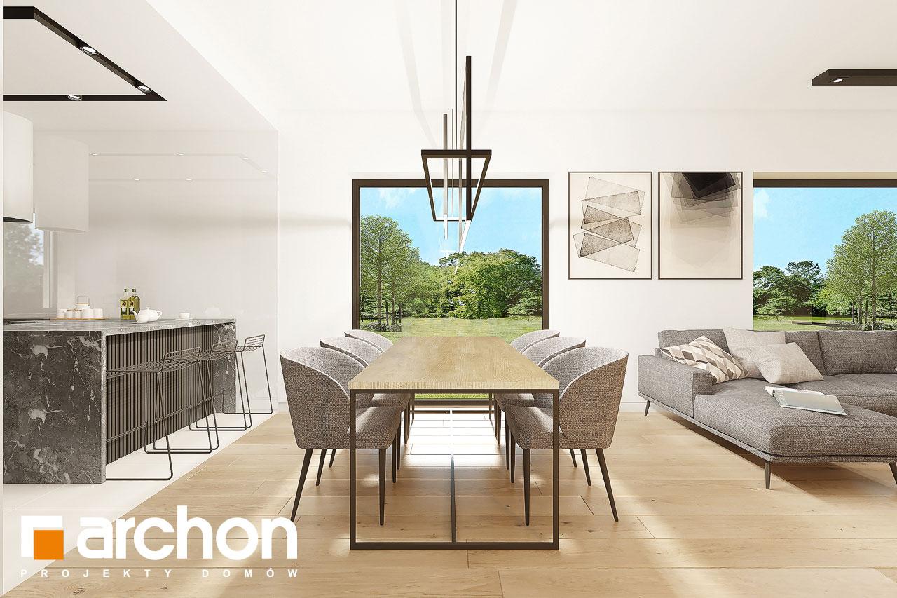 Проект будинку ARCHON+ Будинок в ренклодах 12 денна зона (візуалізація 1 від 6)