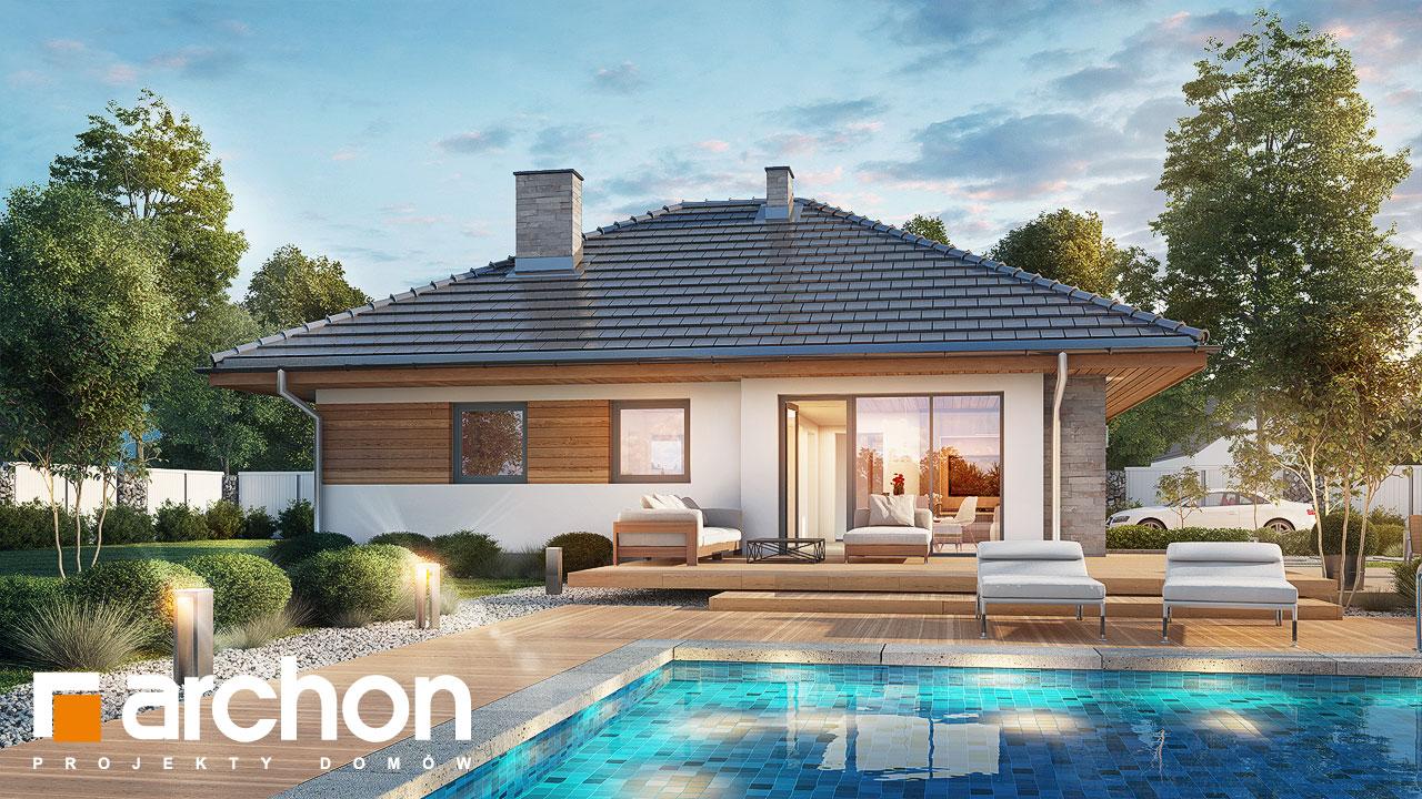 Проект дома ARCHON+ Дом в сирени ver.2 додаткова візуалізація