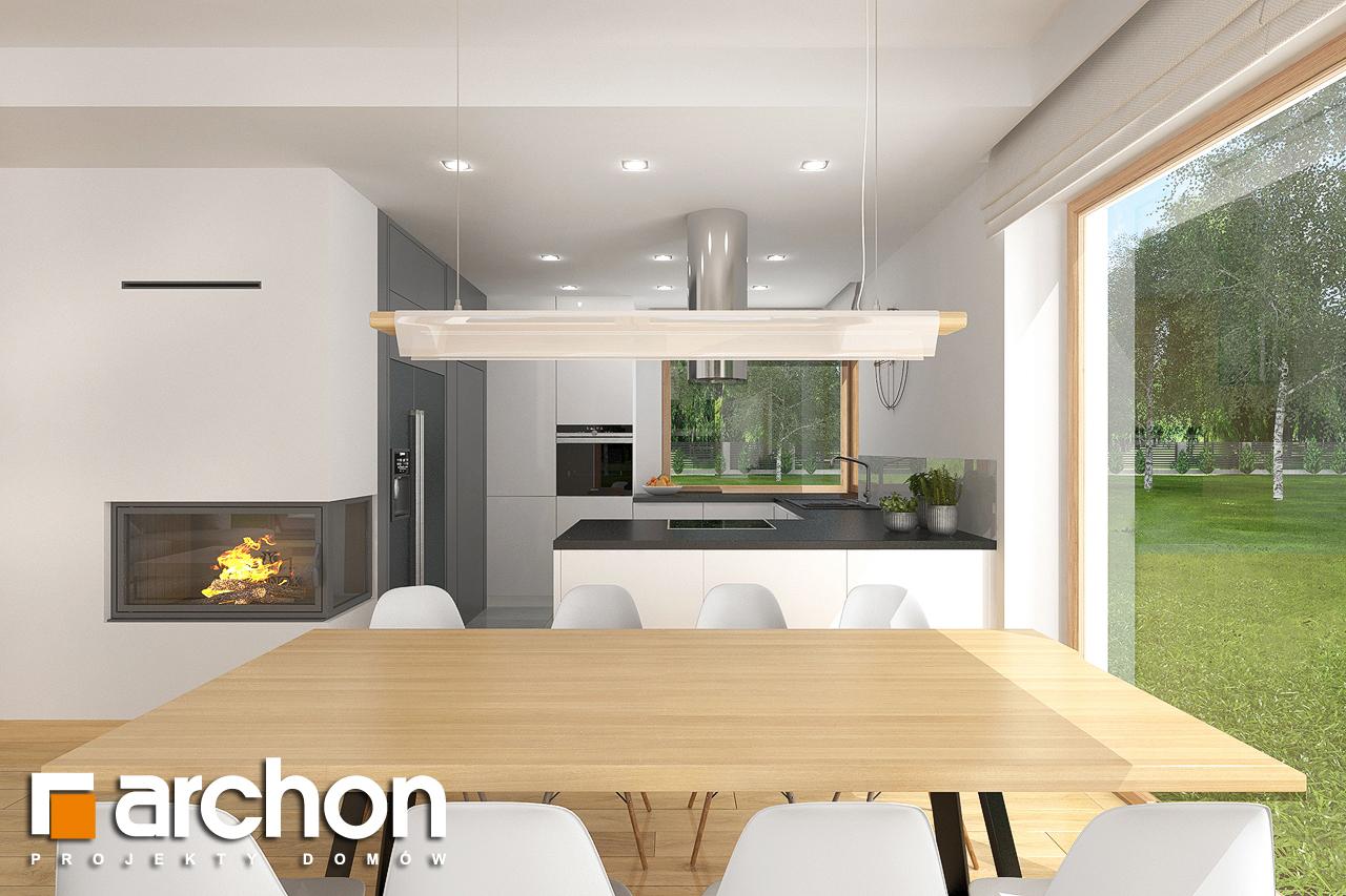Проект будинку ARCHON+ Будинок в кортланді 3 (Г2) візуалізація кухні 1 від 4