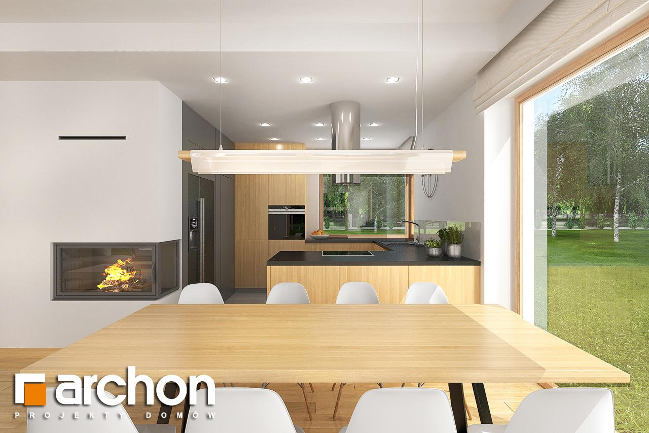 Проект будинку ARCHON+ Будинок в кортланді 3 (Г2) візуалізація кухні 1 від 5