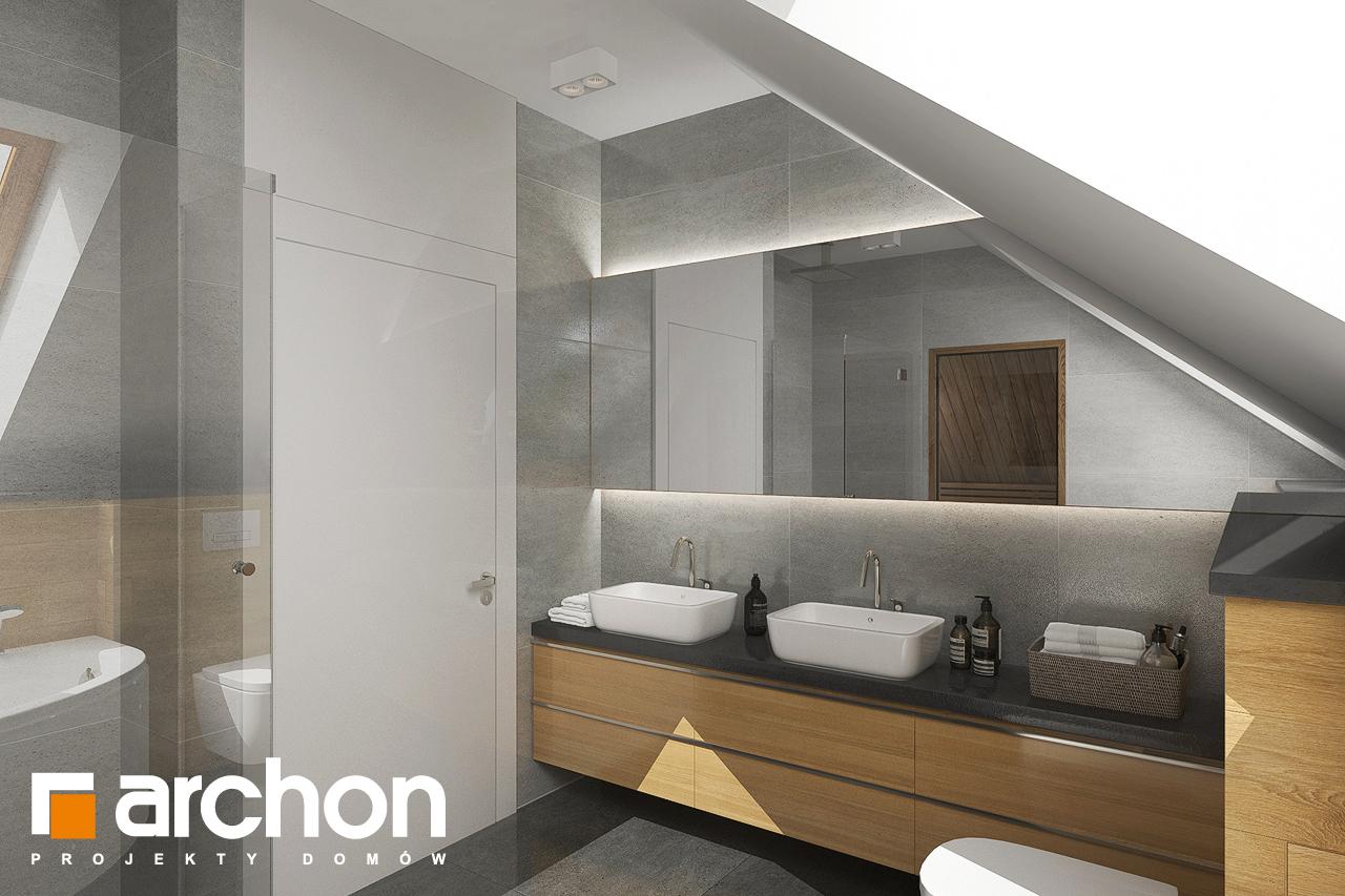 Проект будинку ARCHON+ Будинок в кортланді 3 (Г2) візуалізація ванни (візуалізація 3 від 1)