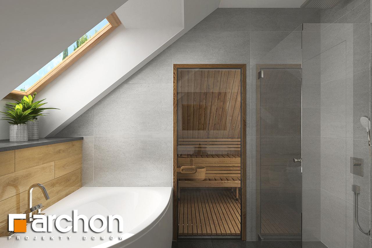 Проект будинку ARCHON+ Будинок в кортланді 3 (Г2) візуалізація ванни (візуалізація 3 від 3)