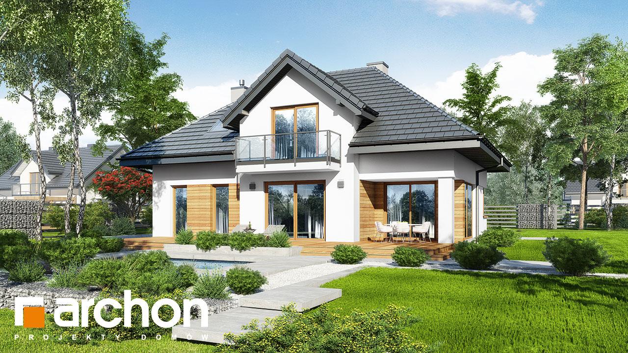 Проект будинку ARCHON+ Будинок в кортланді 3 (Г2) Вид 2