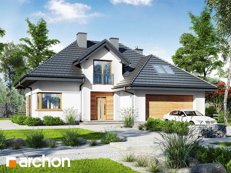 Проект будинку ARCHON+ Будинок в кортланді 3 (Г2) Вид 1