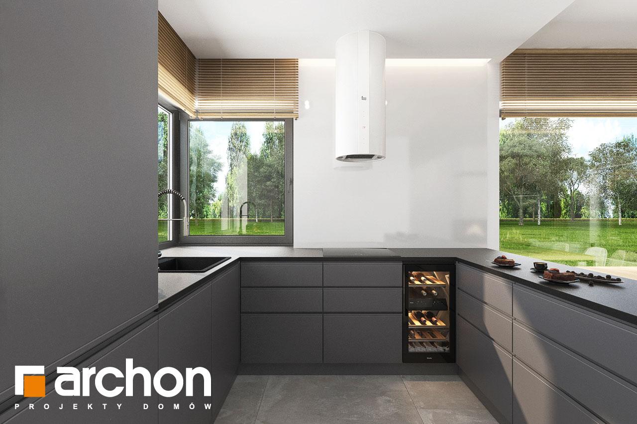 Проект будинку ARCHON+ Будинок в коручках 5 візуалізація кухні 1 від 1