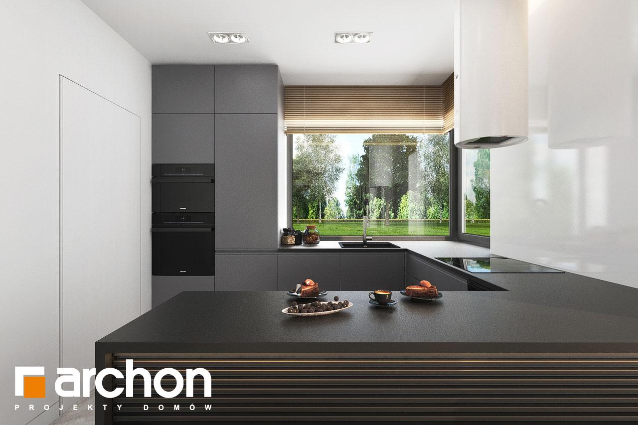Проект будинку ARCHON+ Будинок в коручках 5 візуалізація кухні 1 від 2