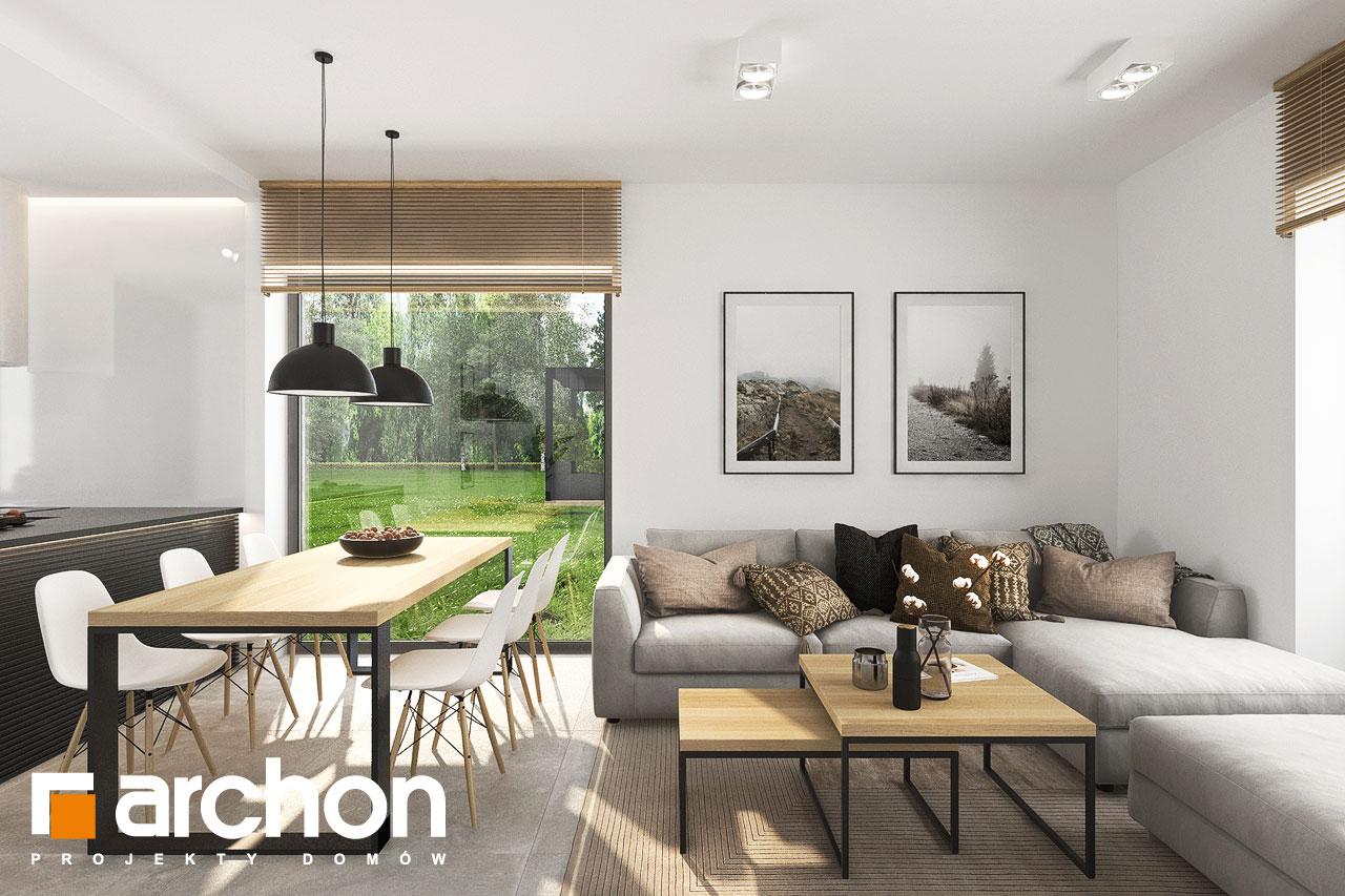 Проект будинку ARCHON+ Будинок в коручках 5 денна зона (візуалізація 1 від 1)