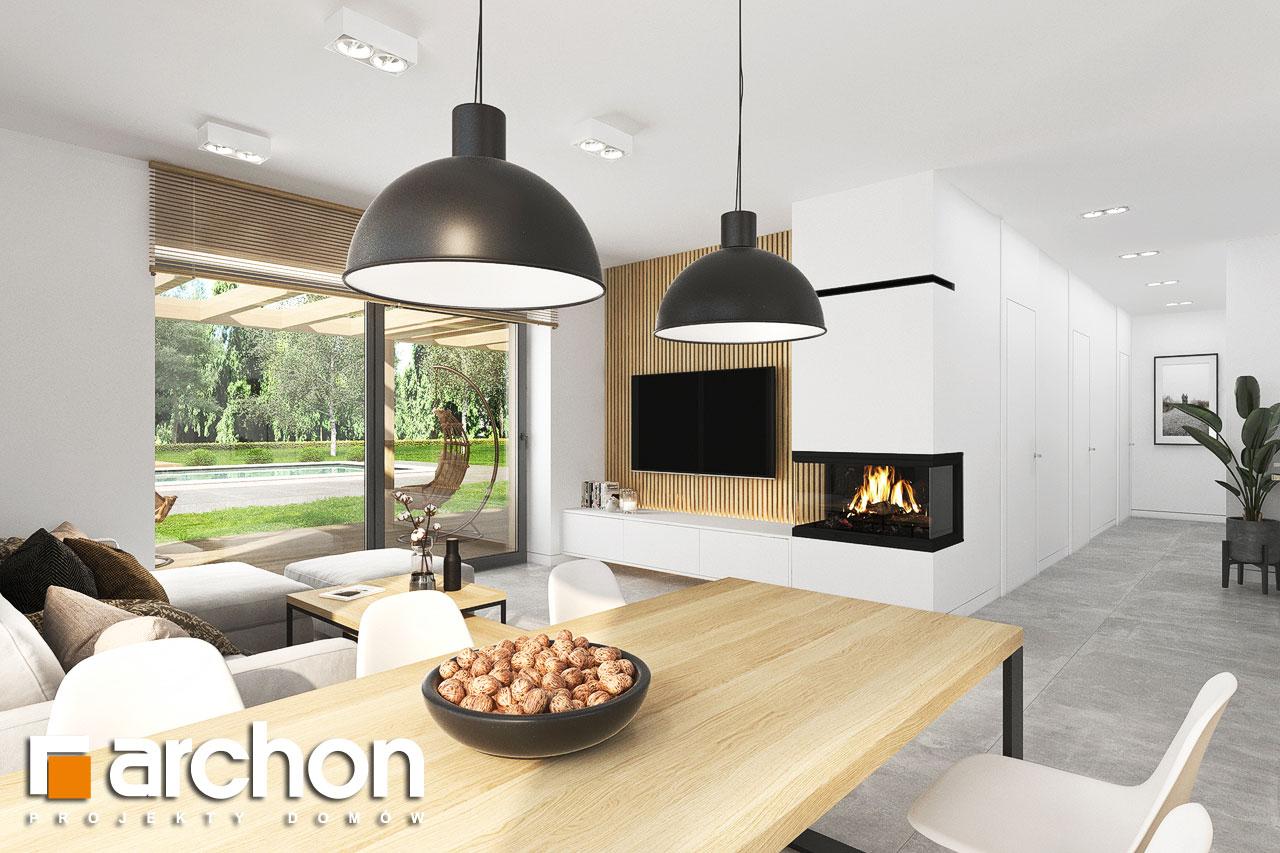 Проект будинку ARCHON+ Будинок в коручках 5 денна зона (візуалізація 1 від 5)