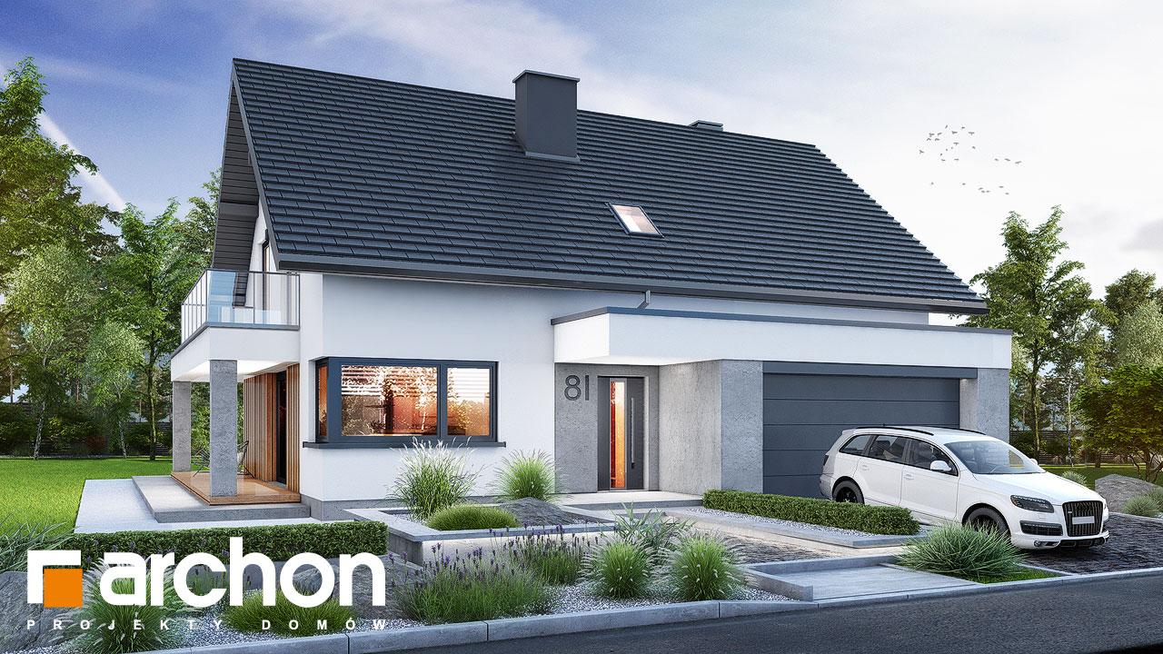 Проект будинку ARCHON+ Будинок в нефрісах (Г2) додаткова візуалізація
