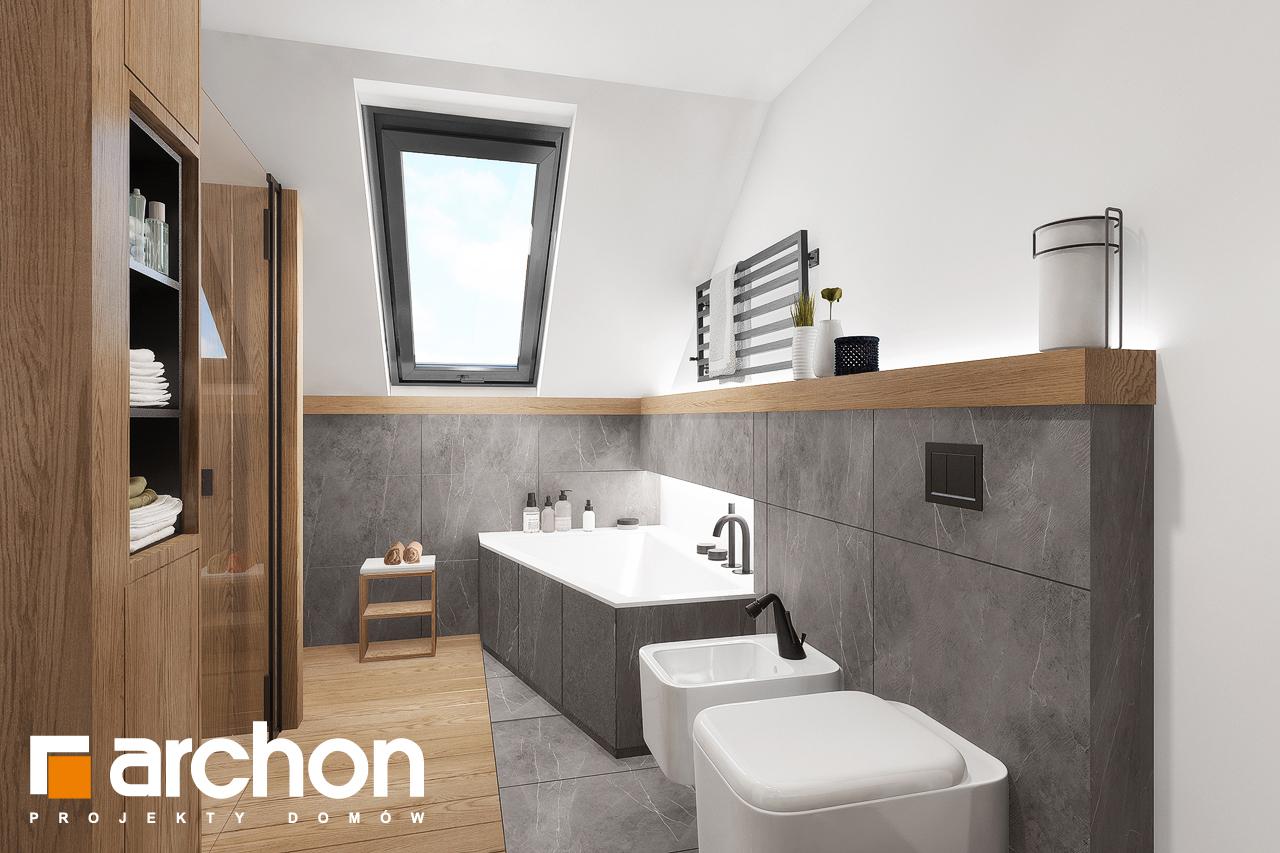 Проект будинку ARCHON+ Будинок в нефрісах (Г2) візуалізація ванни (візуалізація 3 від 1)