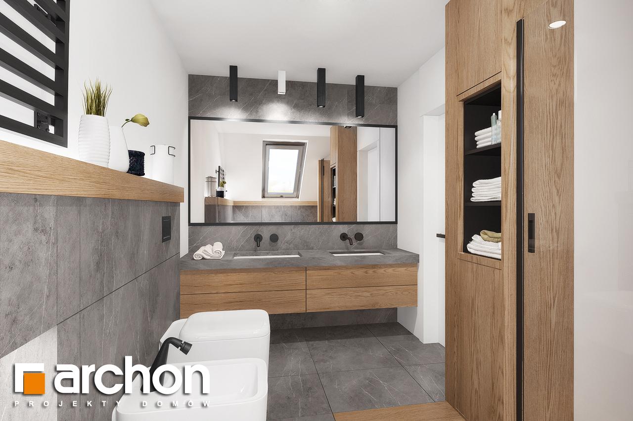 Проект будинку ARCHON+ Будинок в нефрісах (Г2) візуалізація ванни (візуалізація 3 від 2)