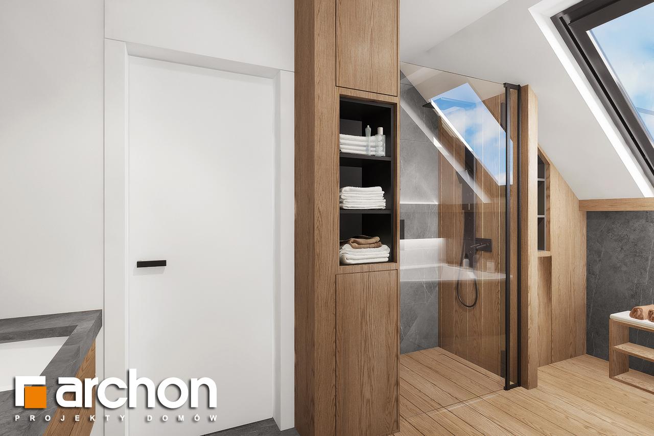 Проект будинку ARCHON+ Будинок в нефрісах (Г2) візуалізація ванни (візуалізація 3 від 3)