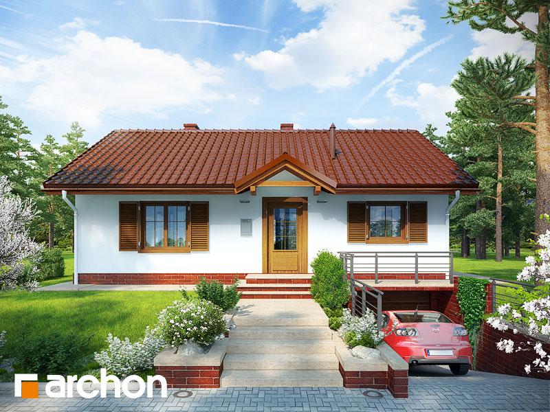 Проект будинку ARCHON+ Будинок в ожині Вид 1