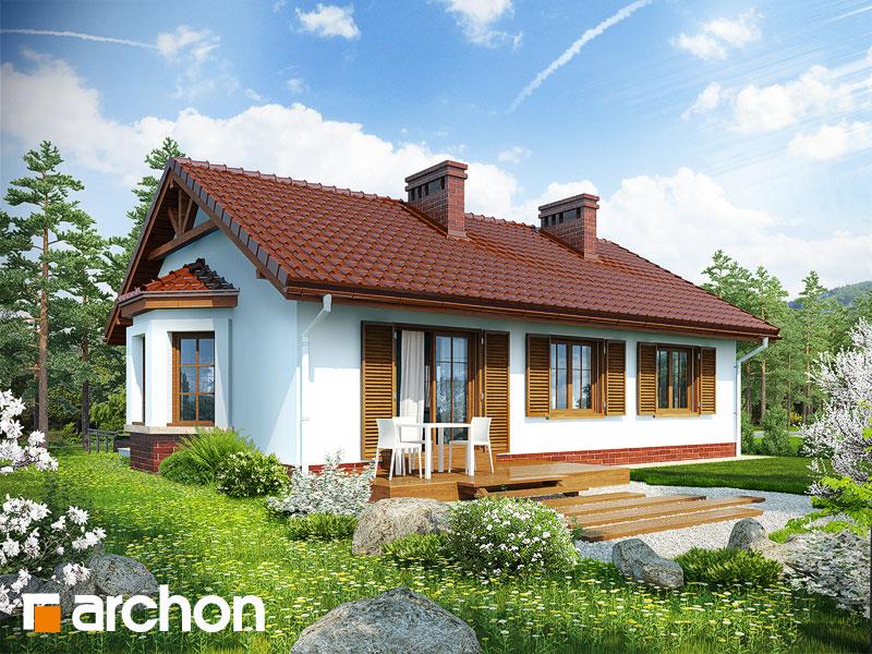 Проект будинку ARCHON+ Будинок в ожині Вид 2