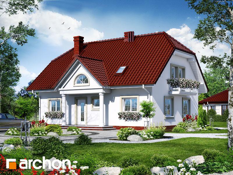 Проект будинку ARCHON+ Будинок в гладіолусах 2 Вид 1
