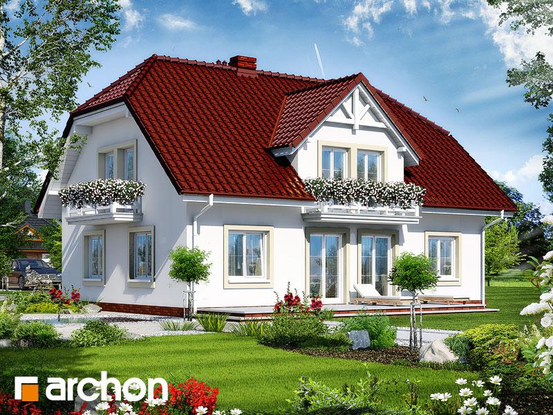 Проект будинку ARCHON+ Будинок в гладіолусах 2 Вид 2