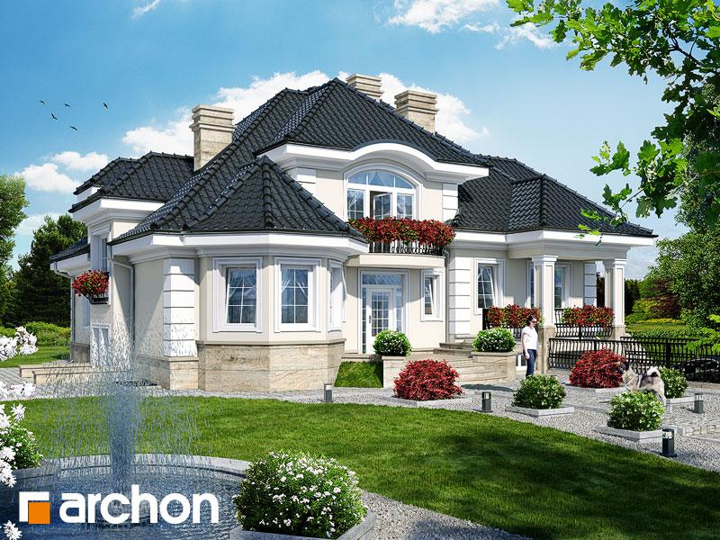 Проект будинку ARCHON+ Резиденція в Мишленіцах 2 (П) Вид 1