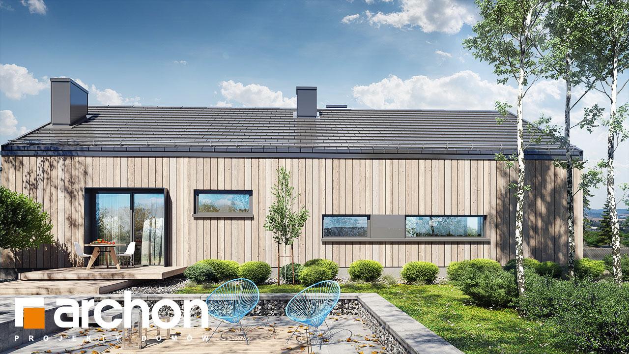 Проект дома ARCHON+ Дом в мекинтошах 8 додаткова візуалізація
