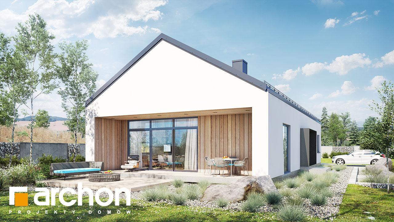Проект дома ARCHON+ Дом в мекинтошах 8 стилизация 3