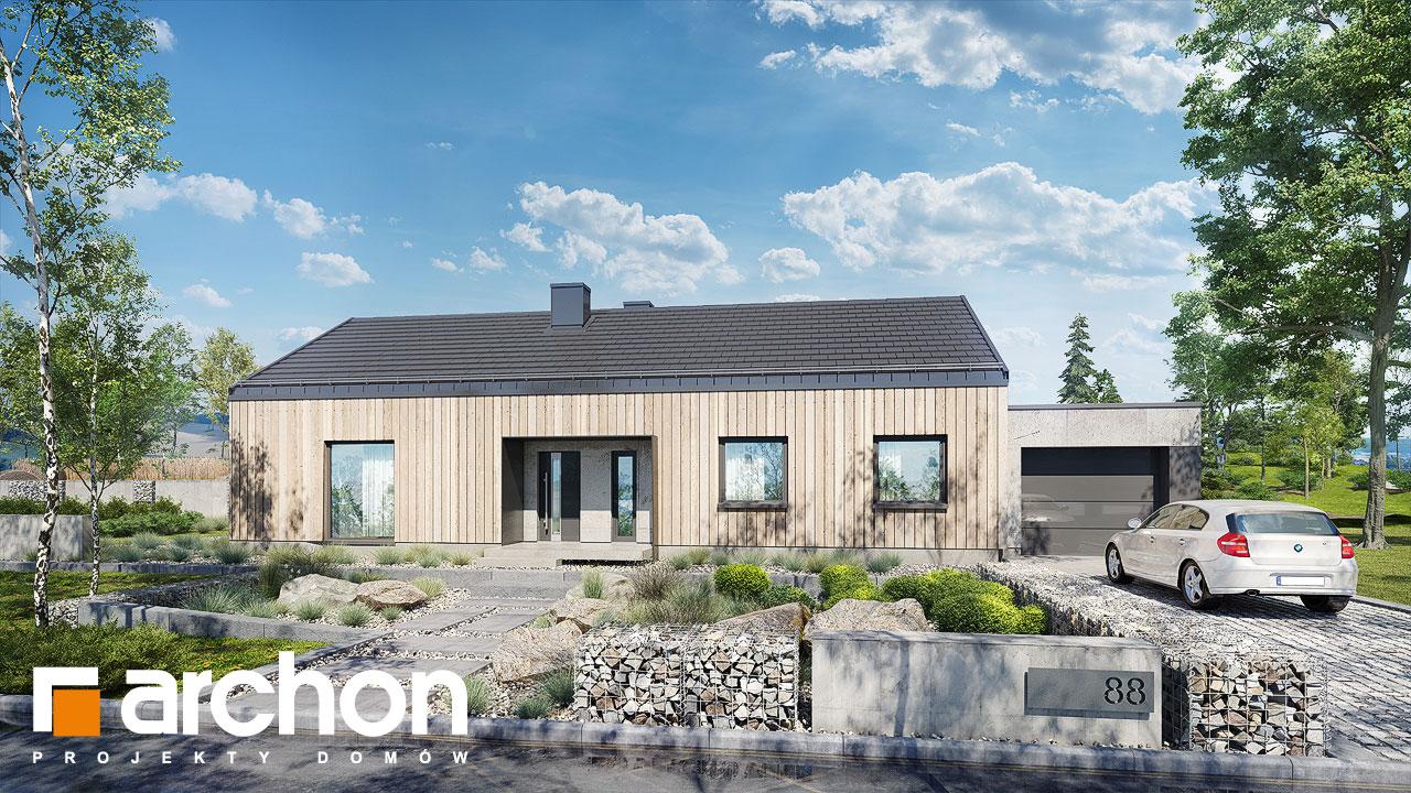 Проект дома ARCHON+ Дом в мекинтошах 8 Вид 2