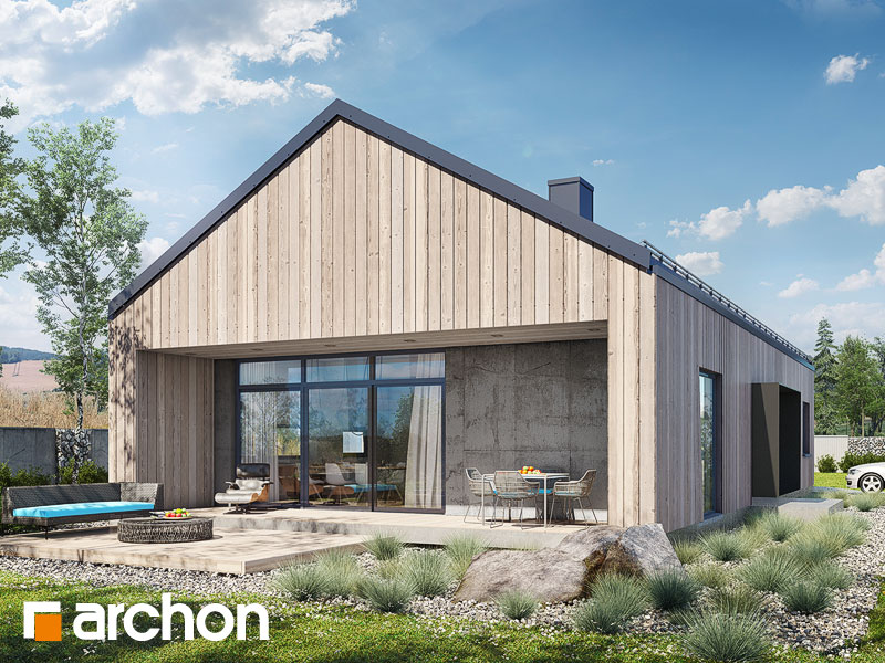 Проект дома ARCHON+ Дом в мекинтошах 8 Вид 1