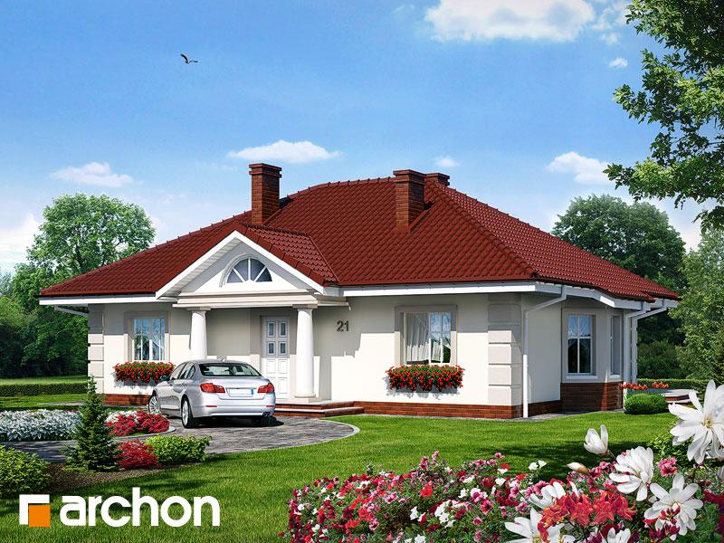Проект будинку ARCHON+ Будинок під червоною горобиною Вид 1