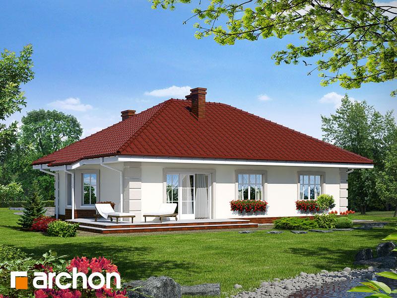 Проект будинку ARCHON+ Будинок під червоною горобиною Вид 2