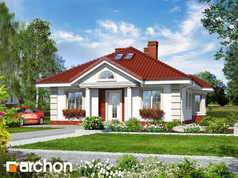 Проект будинку ARCHON+ Будинок при потоці Вид 1