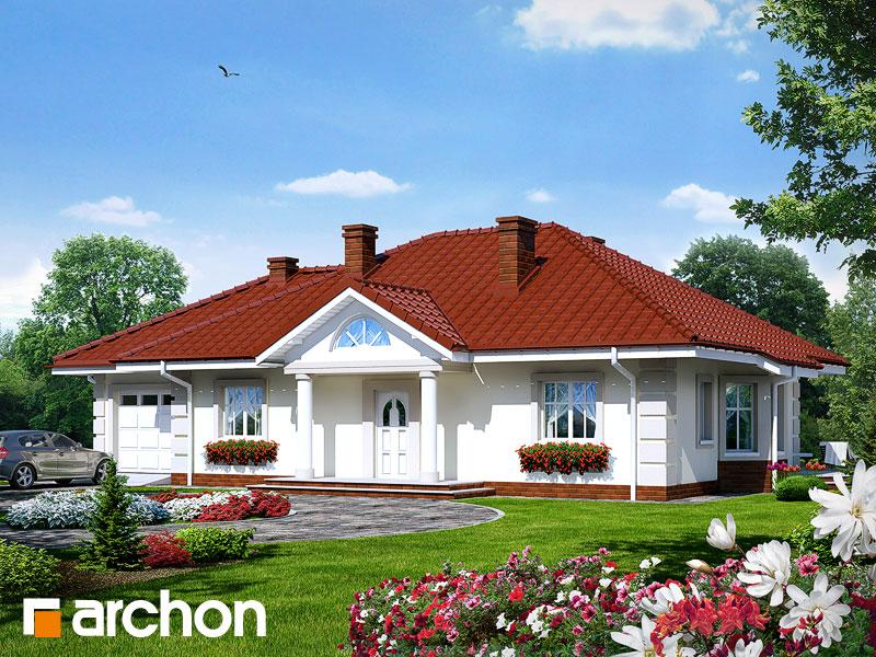 Проект будинку ARCHON+ Будинок під червоною горобиною (Г) Вид 1