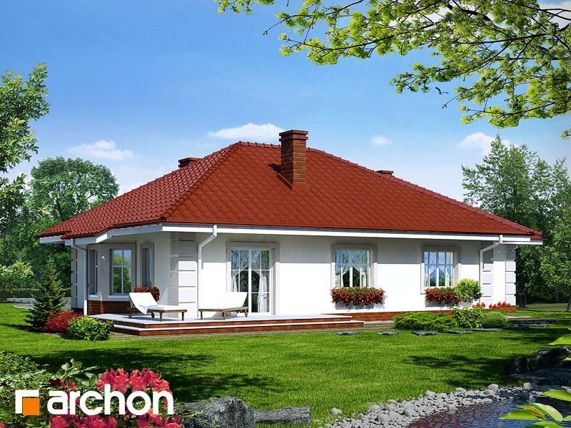 Проект будинку ARCHON+ Будинок під червоною горобиною (Г) Вид 2