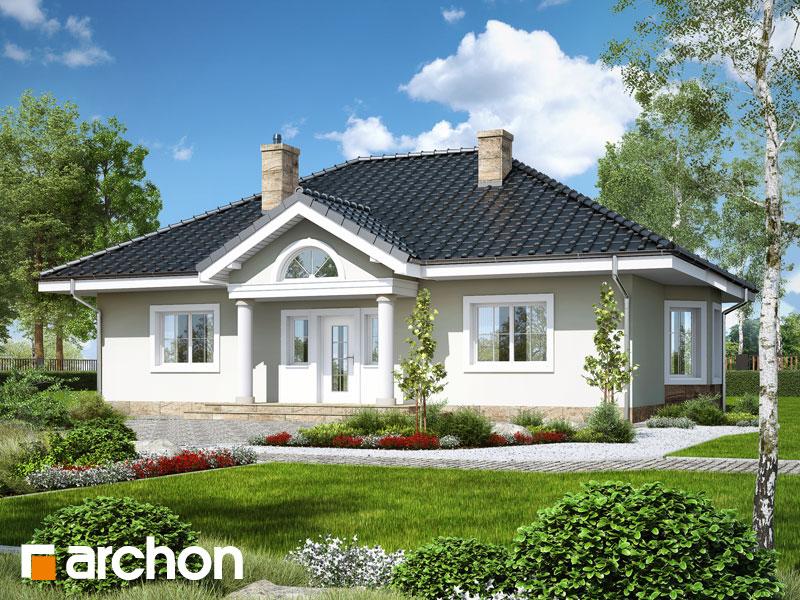 Проект дома ARCHON+ Дом под красной рябиной 12 Вид 1