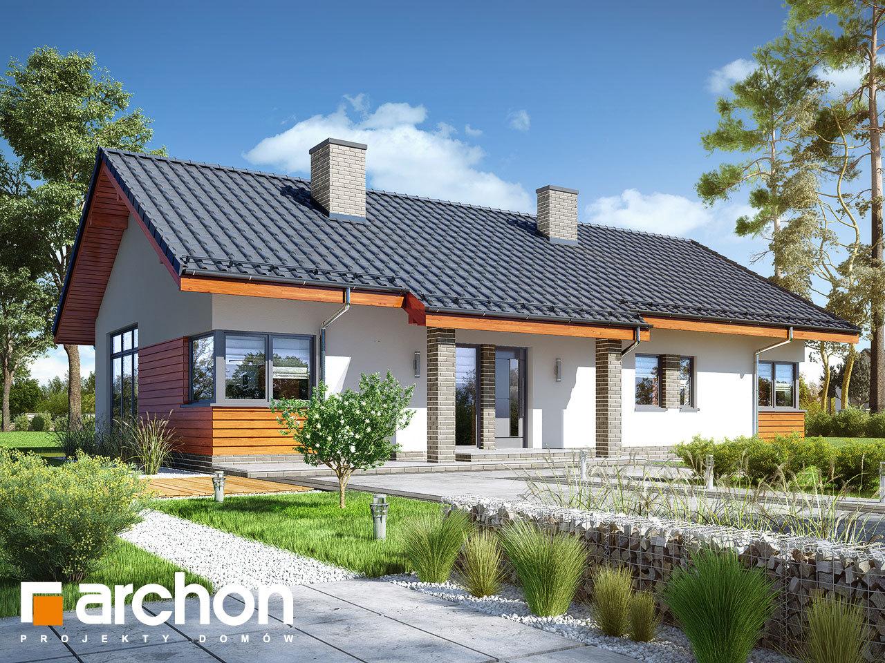 Проект будинку ARCHON+ Будинок в мекінтошах 6