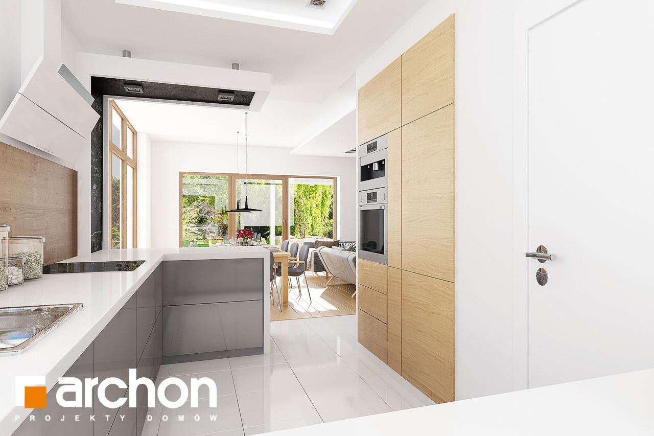 Проект будинку ARCHON+ Будинок в мекінтошах 6 візуалізація кухні 1 від 1
