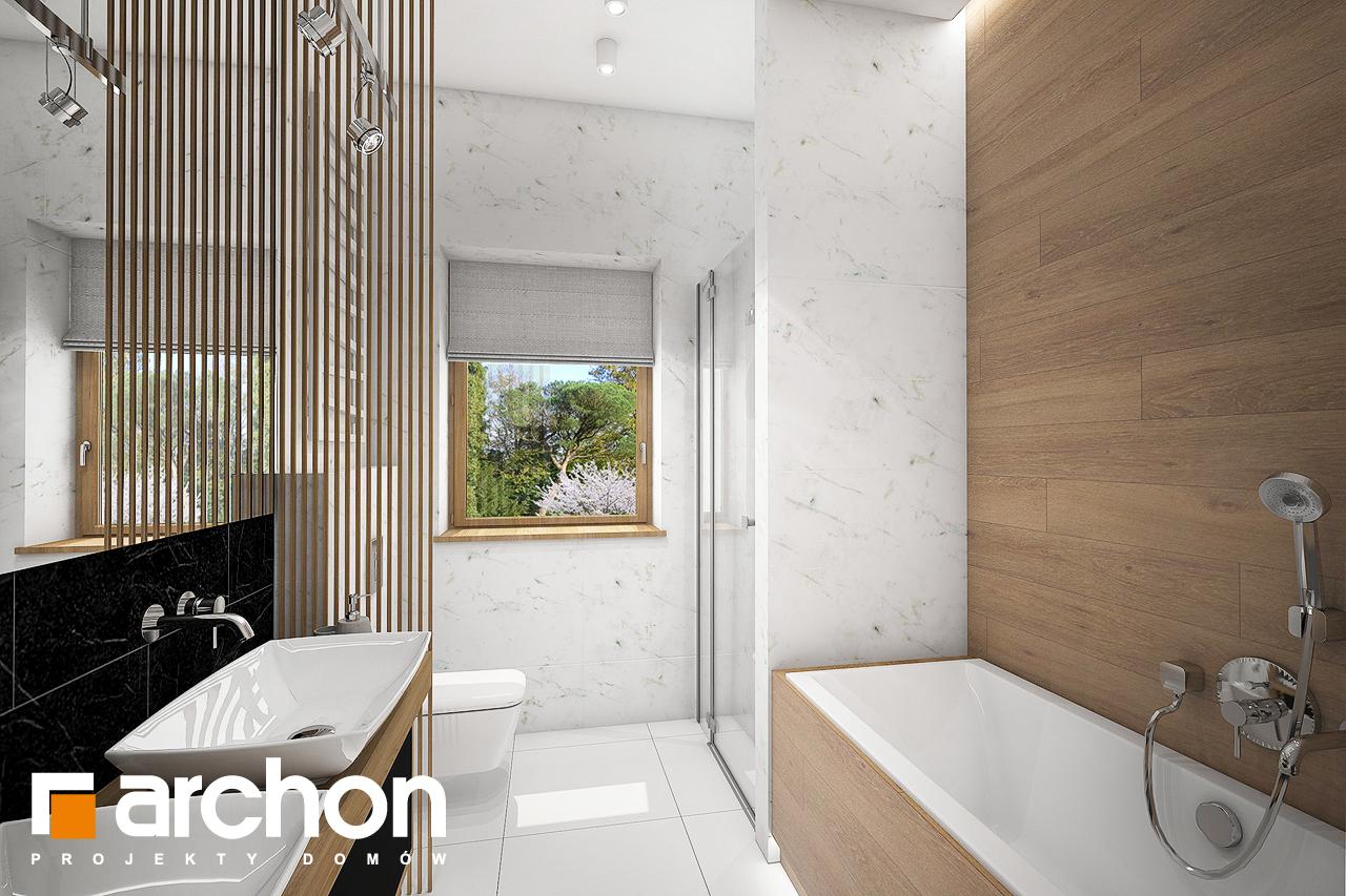 Проект будинку ARCHON+ Будинок в мекінтошах 6 візуалізація ванни (візуалізація 3 від 2)