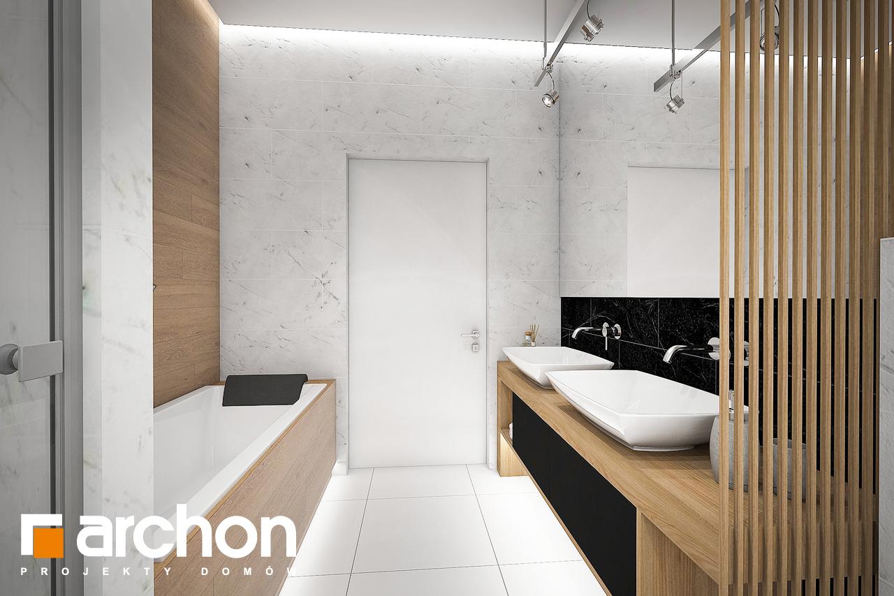 Проект будинку ARCHON+ Будинок в мекінтошах 6 візуалізація ванни (візуалізація 3 від 3)