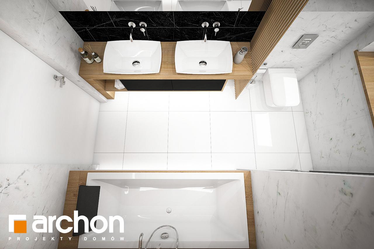 Проект будинку ARCHON+ Будинок в мекінтошах 6 візуалізація ванни (візуалізація 3 від 4)