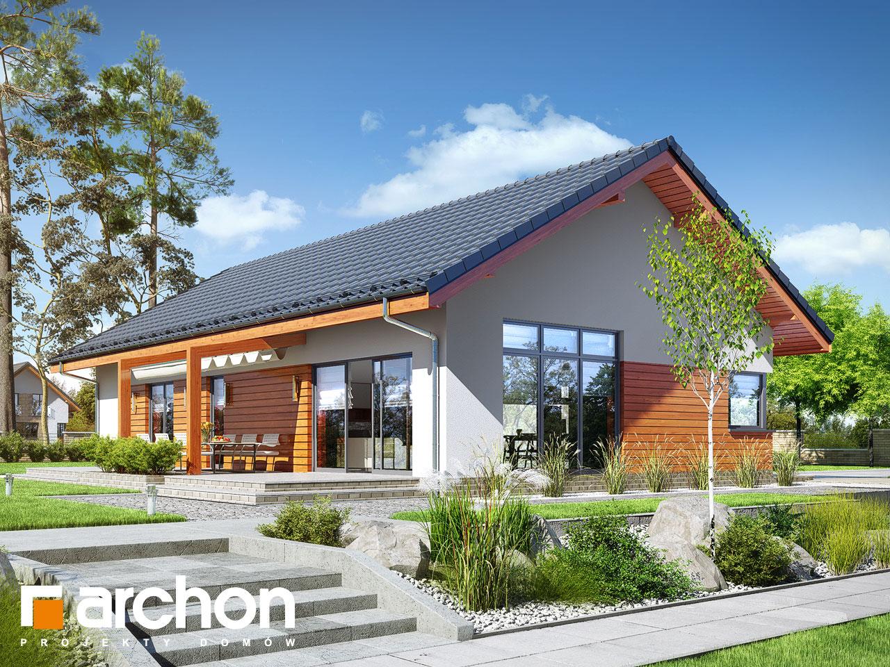 Проект будинку ARCHON+ Будинок в мекінтошах 6 Вид 2