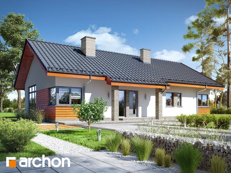 Проект будинку ARCHON+ Будинок в мекінтошах 6 Вид 1