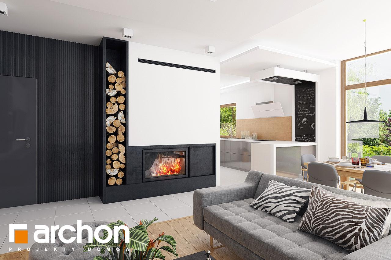 Проект будинку ARCHON+ Будинок в мекінтошах 6 денна зона (візуалізація 1 від 1)