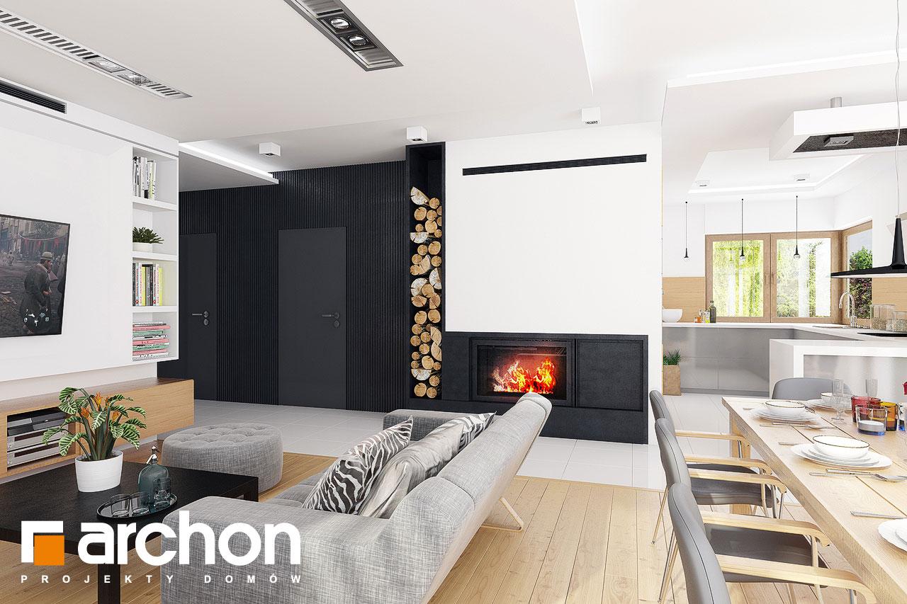 Проект будинку ARCHON+ Будинок в мекінтошах 6 денна зона (візуалізація 1 від 2)