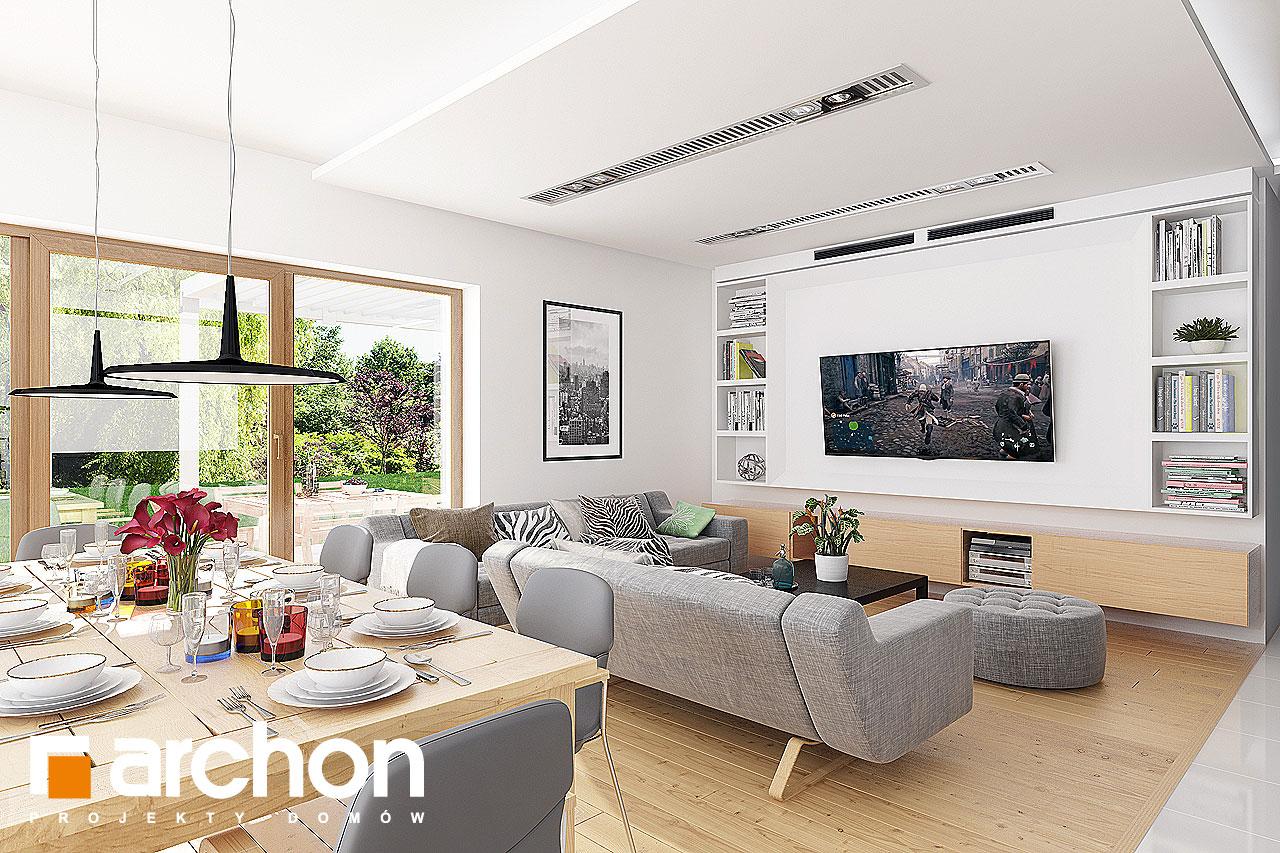 Проект будинку ARCHON+ Будинок в мекінтошах 6 денна зона (візуалізація 1 від 3)