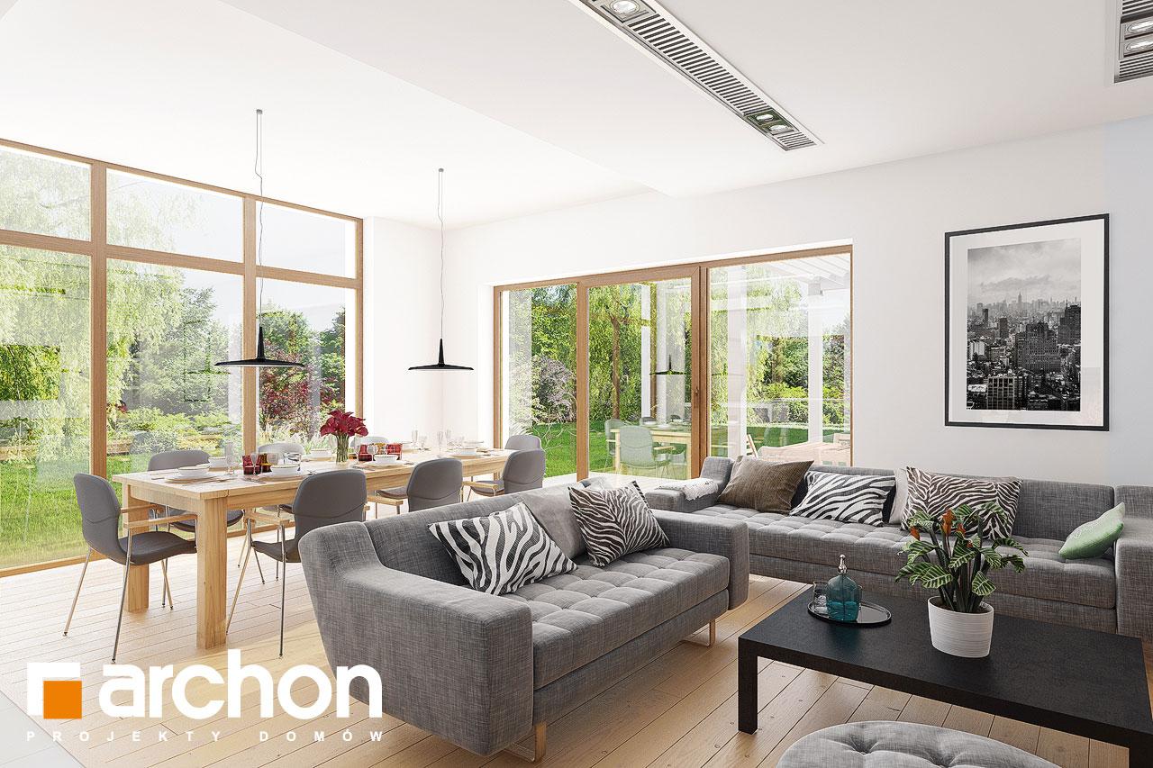 Проект будинку ARCHON+ Будинок в мекінтошах 6 денна зона (візуалізація 1 від 4)