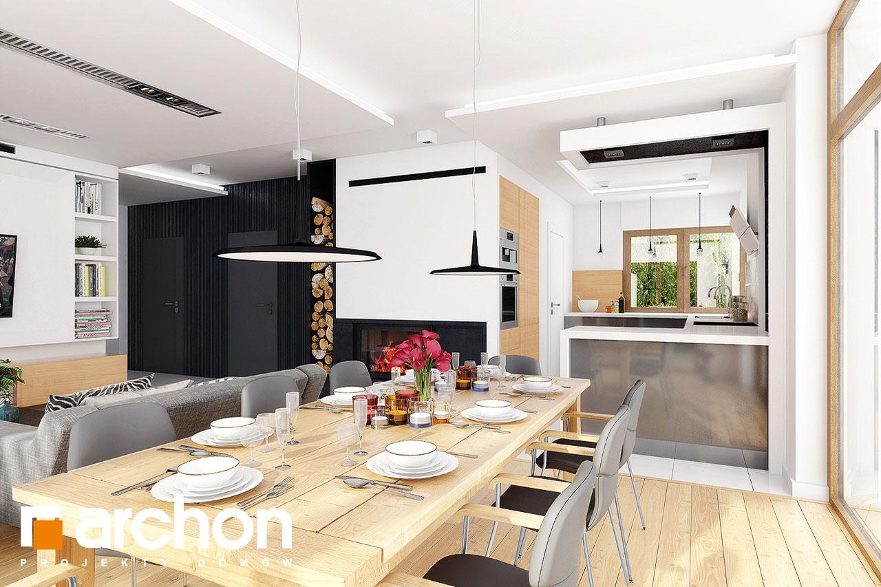 Проект будинку ARCHON+ Будинок в мекінтошах 6 денна зона (візуалізація 1 від 5)
